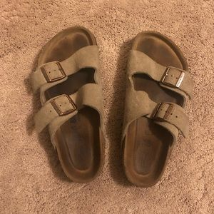 Birkenstock's Arizona Suede Leather